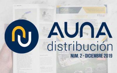 IDSAGas, presente en el nuevo número de la revista AUNA Distribución